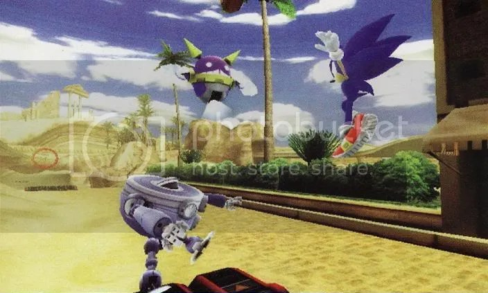 Sonic Unleashed Wii Scan Image 2
