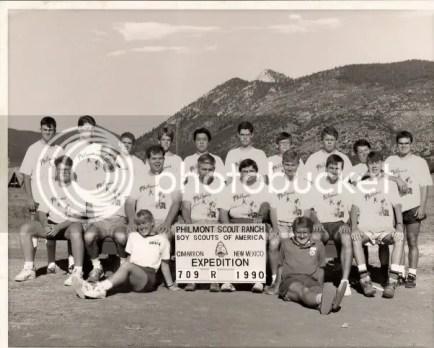 Philmont Crew, 1990