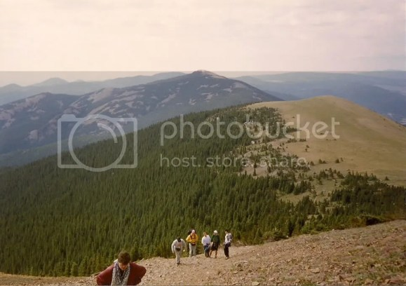 Climbing Baldy Mountain at Philmont Scout Ranch