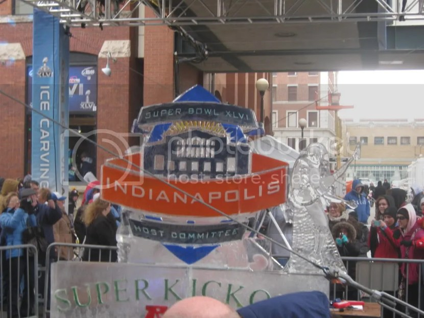 Super Bowl XLVI in Indianapolis