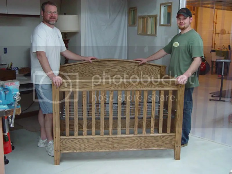 Build DIY Baby crib woodworking plans Plans Wooden wood ...