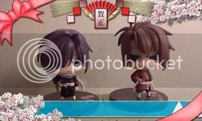 saitou okita mini display figure hakuoki memories photo booth