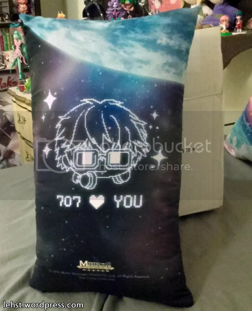 707 seven mystic messenger space station pillow cushion