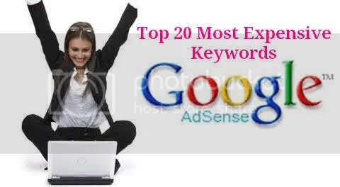The 20 Most Expensive Keyword Categories In Google AdWords