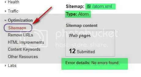 How To Add Google XML Sitemap To Blogger Blog