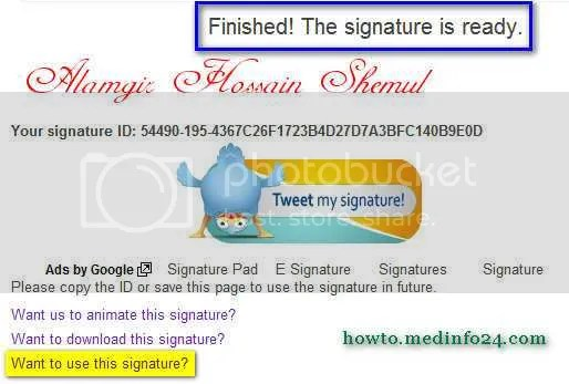 How To Create And Add A Stylish Signature To Your Blogger Posts