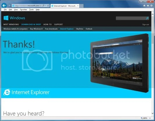 Download Internet Explorer 10 Offline Installer for Windows 7