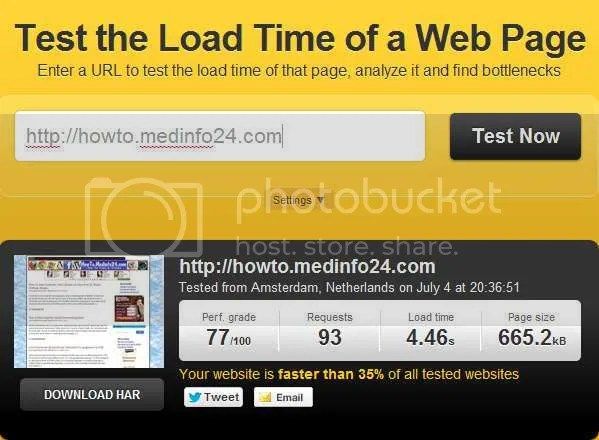 Check Website Page Load Time And Improve Page Speed