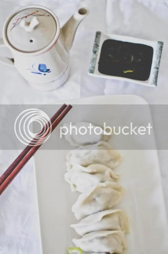 Pork and Asian Greens Dumplings