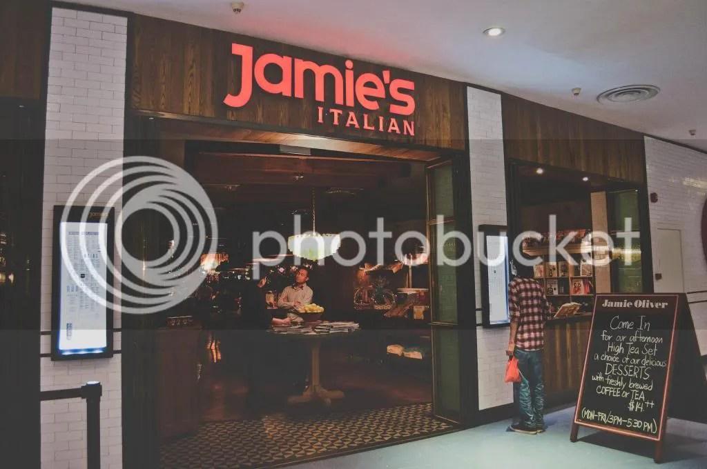 Jamie's Italian, Singapore