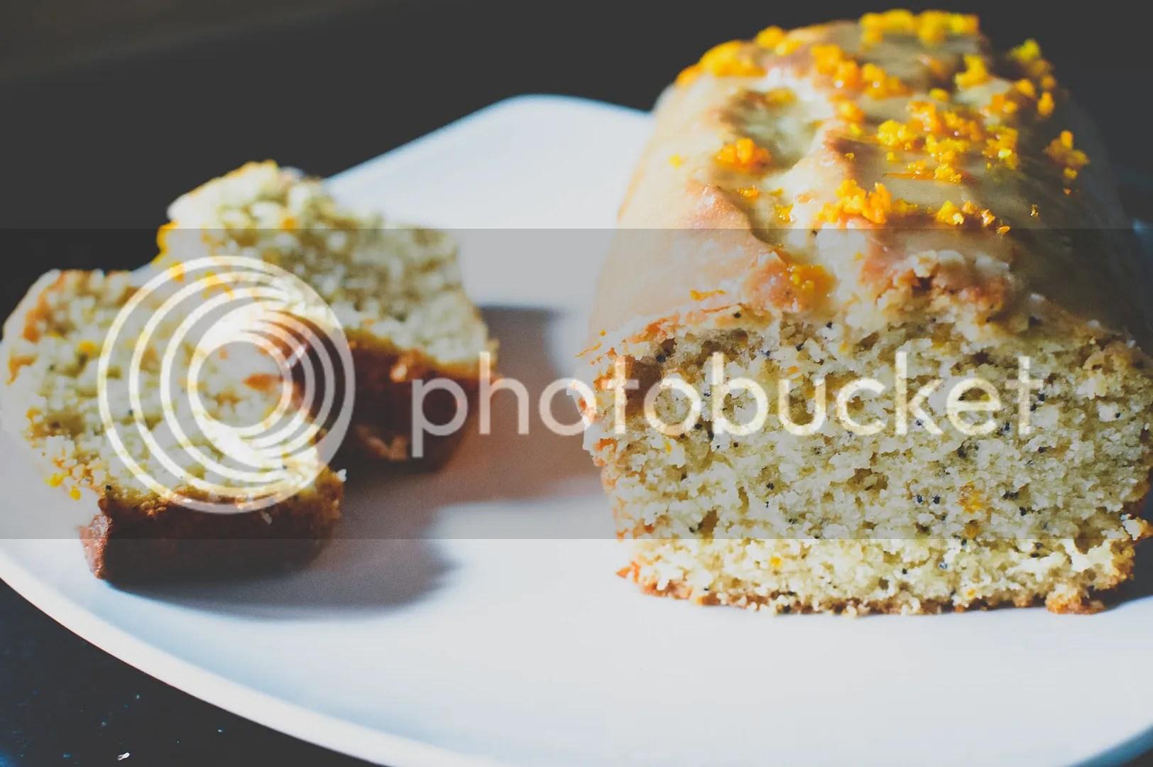 Spiced Orange and Poppy Seed Cake with Citrus Glaze