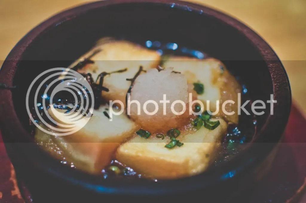 Ishiyaki Gutsugutsu Agedashi Tofu