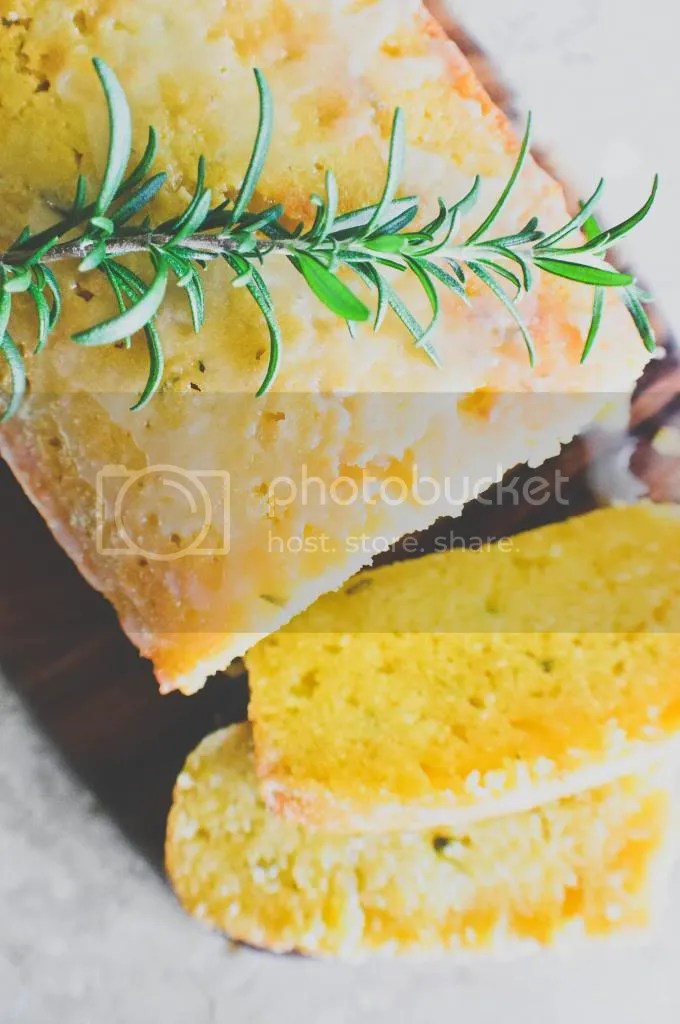 Rosemary & Mandarin Orange Pound Cake
