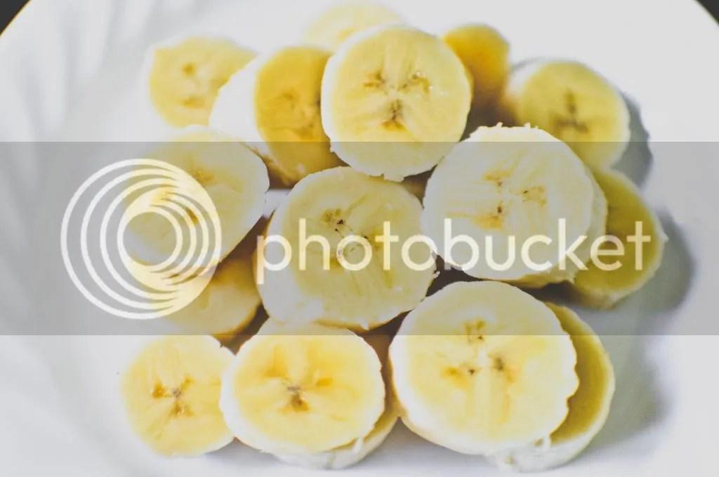 Chopped Bananas