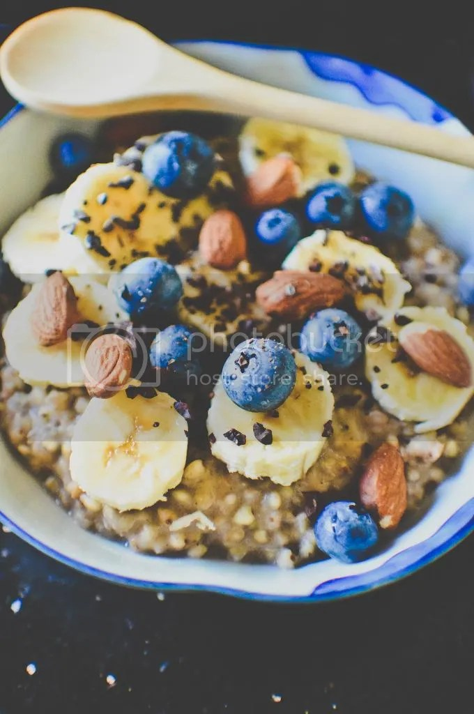 Banana Buckwheat Porridge