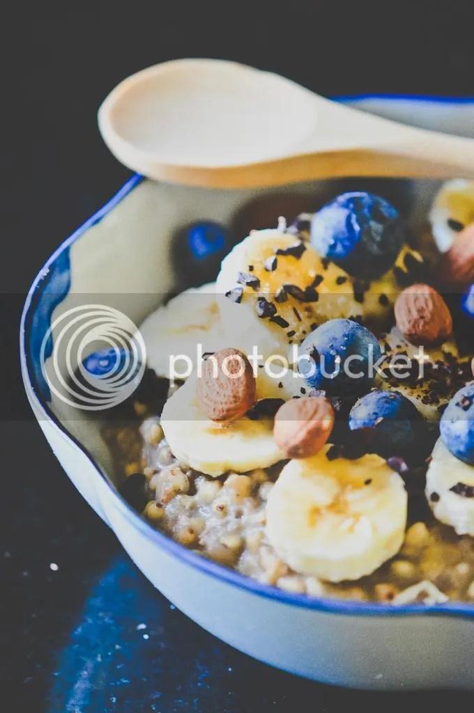 Banana Buckwheat Porridge
