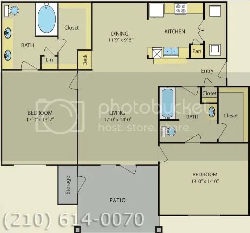 Island Kitchen W Granite Countertops Apartment Finder