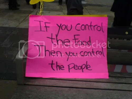 Control the Food, Control the People