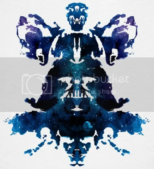Darth Vader Ink Blot