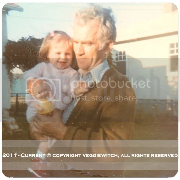 My Opa and I - Spring 1974