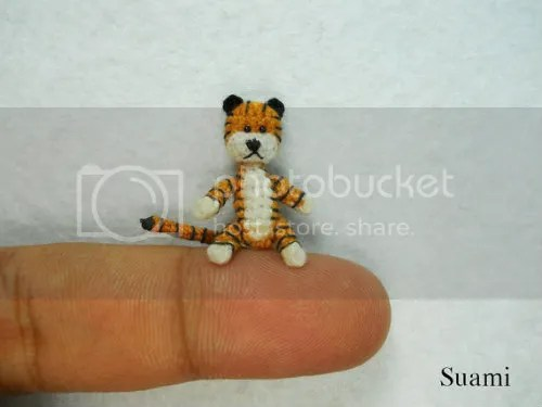 Hobbes Miniature Tiger