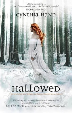 Hallowed by Cynthia Hand Cover - Review - Book two of the Unearthly Series