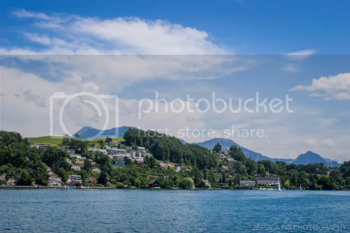 Swiss Alps Lucerne Lake Switzerland