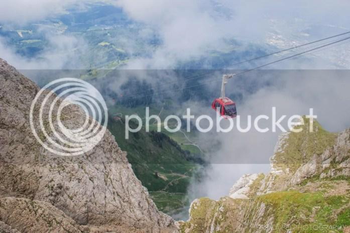Gondola Swiss Alps