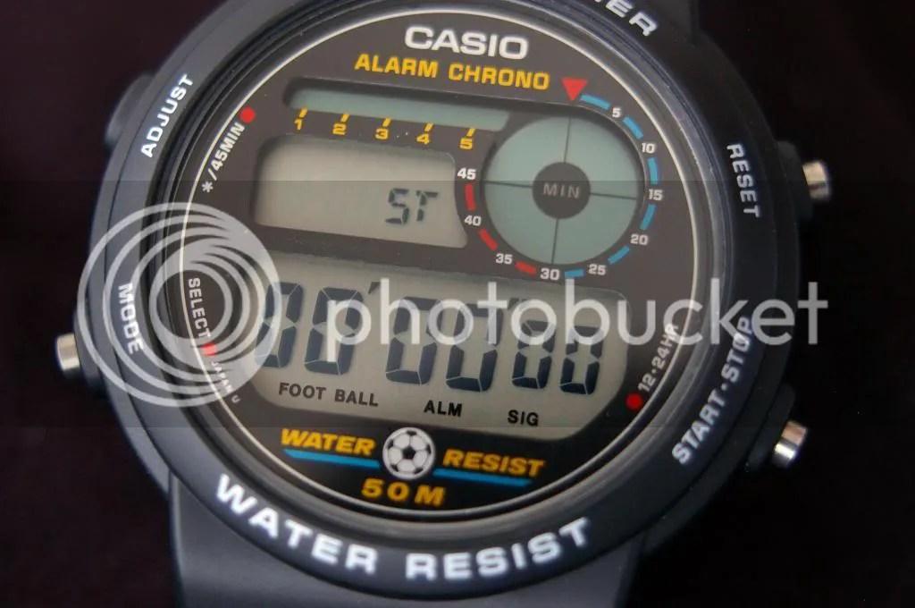 Casio TRW10 football timer