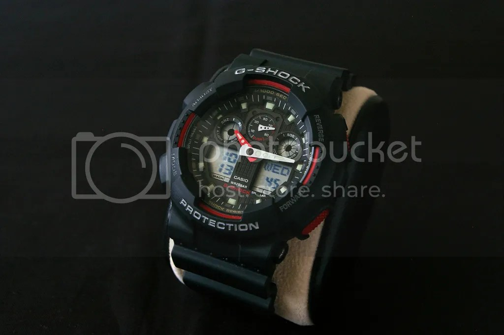 Casio G shock GA100