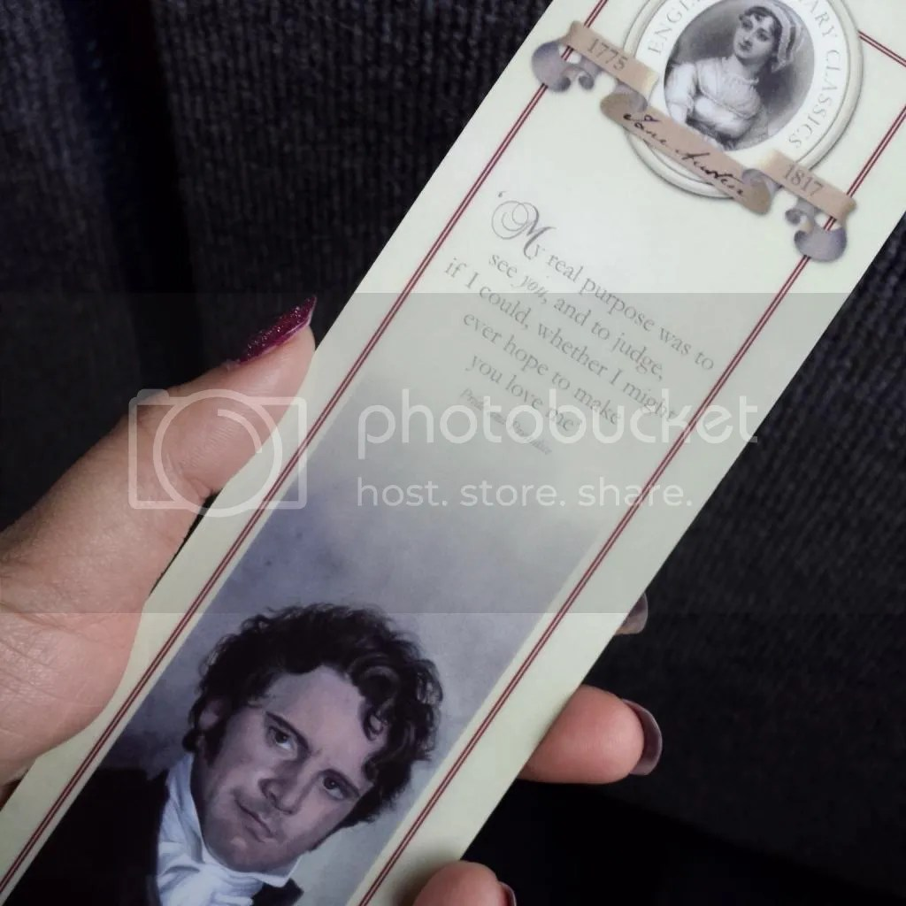 Mr Darcy Bookmark