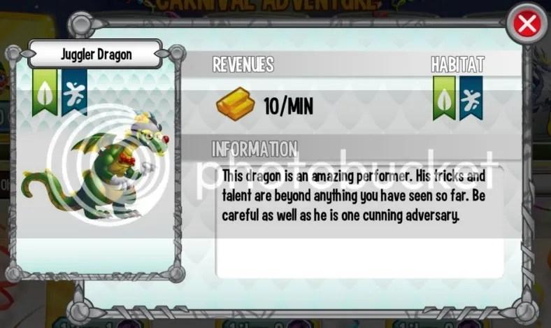 Juggler Dragon Carnival Adventure