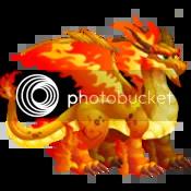 Dragon City Double Flame Dragon