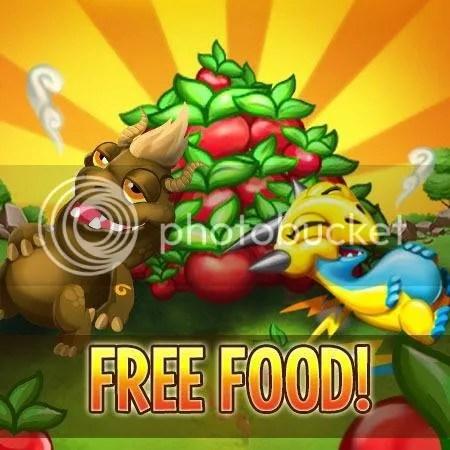 Get Free Food dragon city