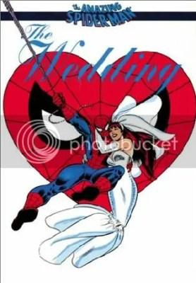 Spiderman menikah