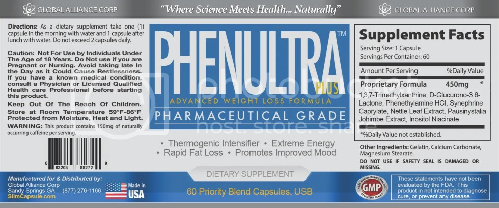 3 PhenUltra Quick Strong Best Fast Rapid Diet Pills That work for Men and Women