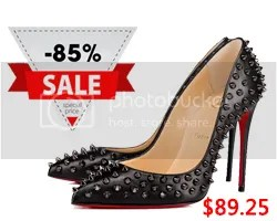 Christian Louboutin up to 85% off