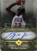 2006-07 Ultimate Michael Jordan Auto