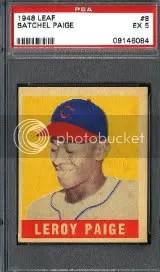 1948 Leaf Satchel Paige PSA 5
