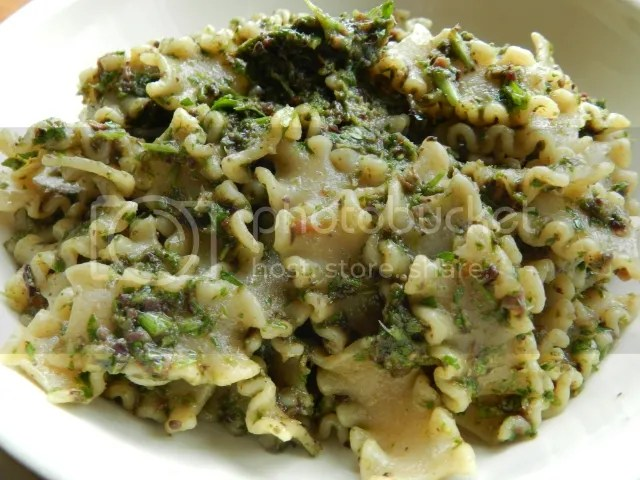 Pasta with vegan pesto photo DSCN0673_zps63491c04.jpg