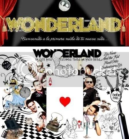 Wonderland - 17 Octubre - La Riviera