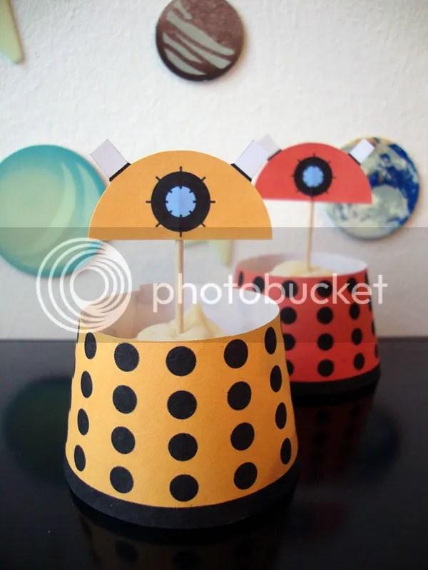 Dalek-Cupcakes