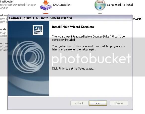 panduan instalasi counter strike 1.6