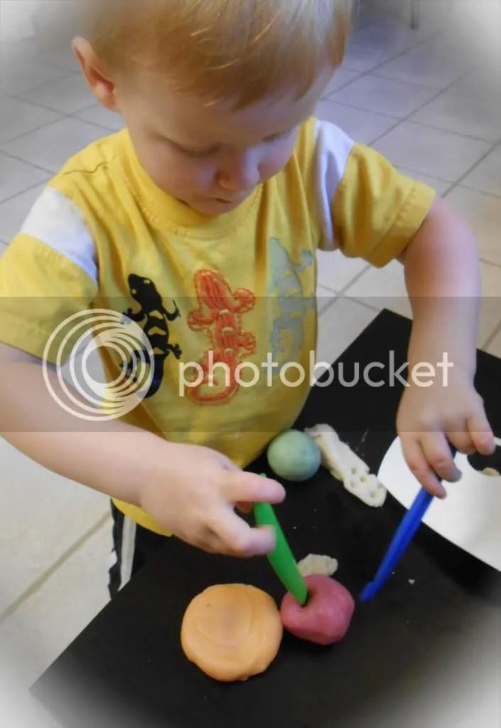 Little J's Play dough