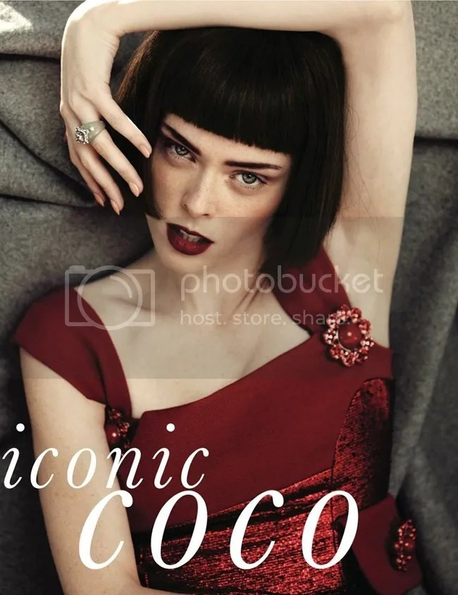 Editorial ELLE Korea Iconic Coco Coco Rocha shot by Hong Jang