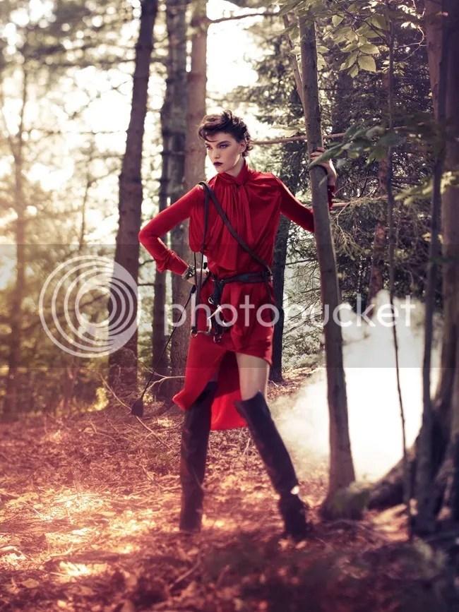 Vogue Korea Sundown Rider Arizona Muse Alexi Lubomirski