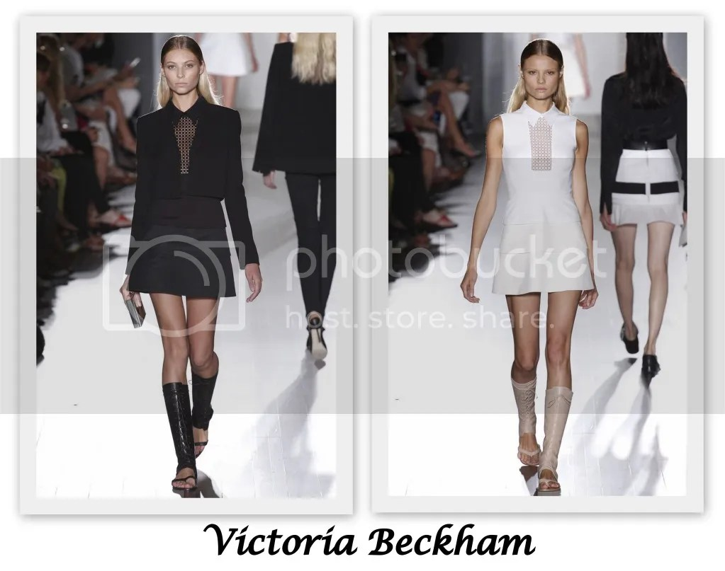 New York Fashion Week S/S 2013 Victoria Beckham