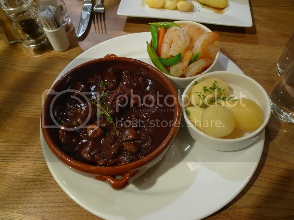Beef stew at Albertine Cafe & Bar Oslo