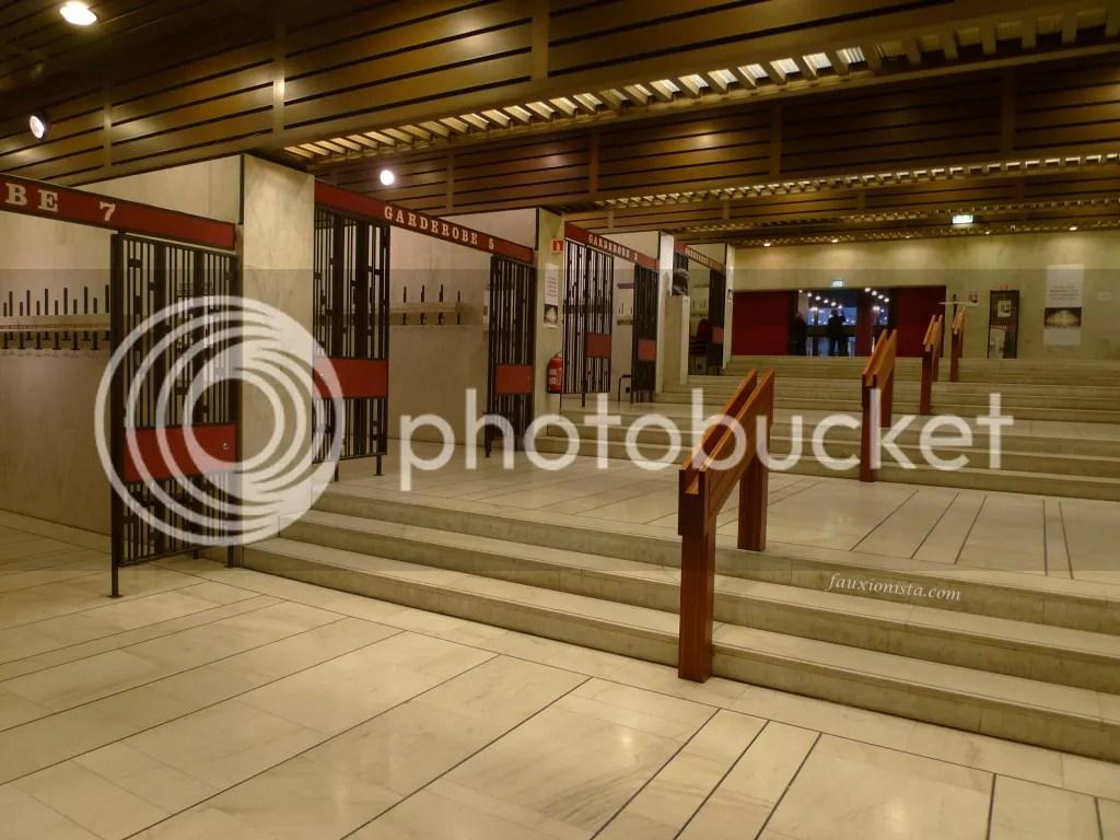 Oslo Konserthus Concert House coat area