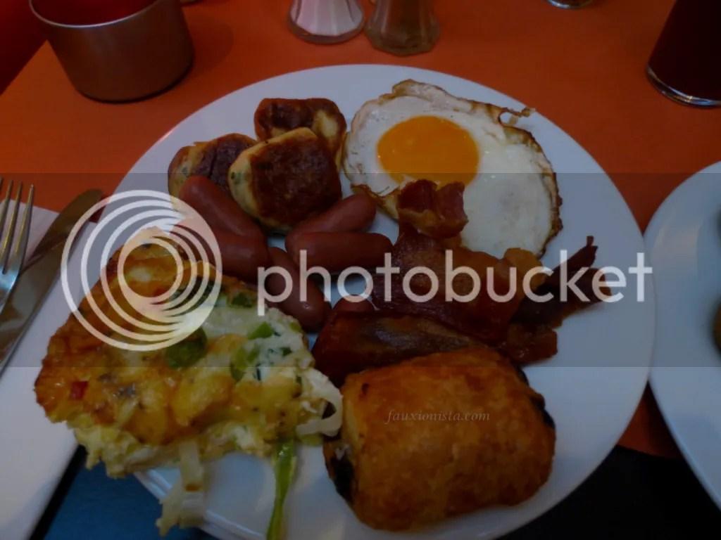 Rica Hotel Oslo breakfast spread